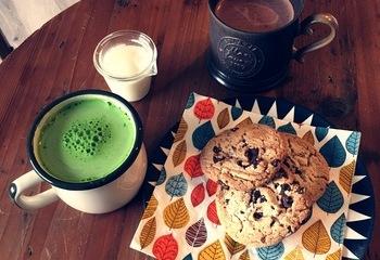 クッキー&ココア&抹茶ラテ